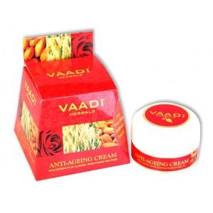 Buy Vaadi Herbals Anti-Ageing Cream - Almond, Wheatgerm Oil & Rose - Nykaa