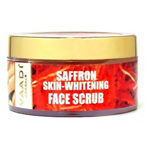Buy Herbal Vaadi Herbals Saffron Sandal Face Scrub - Walnut Scrub & Cinnamon Oil - Nykaa