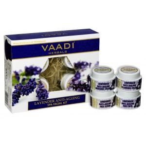 Buy Herbal Vaadi Herbals Lavender & Rosemary Spa Facial Kit - Nykaa