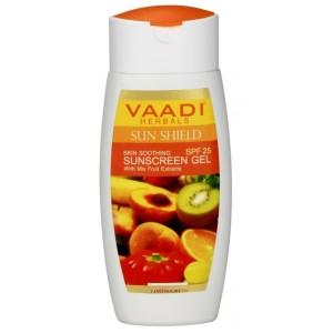 Buy Herbal Vaadi Herbals Sunscreen Gel With Mixfruit Extracts SPF 25 - Nykaa