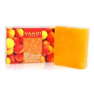 Buy Vaadi Herbals Perky Peach Soap With Almond Oil - Nykaa