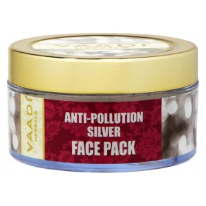 Buy Vaadi Herbals Silver Face Pack - Pure Silver Dust & Lavender Oil - Nykaa