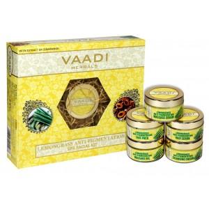 Buy Vaadi Herbals Lemongrass Anti-Pigmentation Spa Facial Kit With Cedarwood Extract - Nykaa