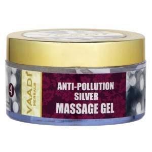 Buy Vaadi Herbals Silver Massage Gel With Pure Silver Dust & Rosemary Oil - Nykaa