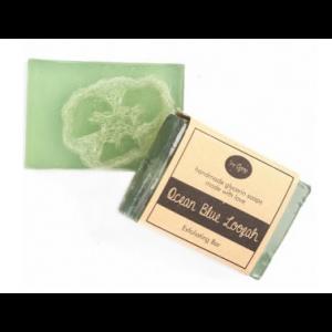 Buy Soap Opera Ocean Blue Loofah Exfoliating Bar - Nykaa