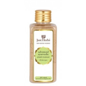 Buy Just Herbs Advanced Ayurvedic Pimple Treatment - Nykaa