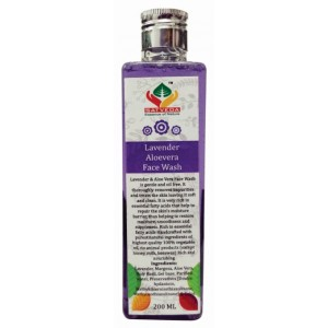 Buy Herbal Satveda Lavender & Aloevera Face Wash - Nykaa