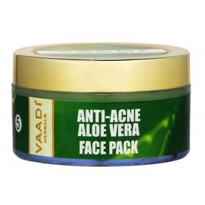 Buy Vaadi Herbals Anti-Acne Aloe Vera Face Pack - Nykaa