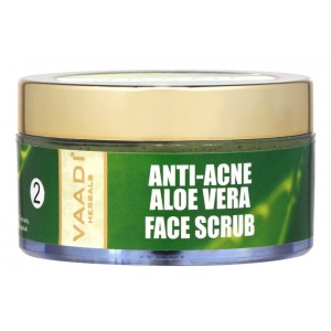 Buy Vaadi Herbals Aloe Vera Face Scrub With Fenugreek & Turmeric Extracts - Nykaa