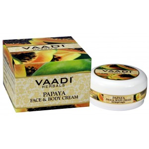Buy Vaadi Herbals Papaya Face & Body Cream - Nykaa
