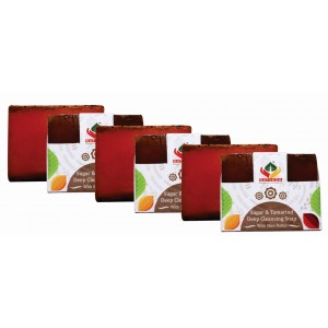 Buy Satveda Sugar & Tamarind Deep Cleansing Soap Pack Of 3 - Nykaa