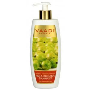 Buy Vaadi Herbals Amla Shikakai Shampoo-Hairfall & Damage Control - Nykaa