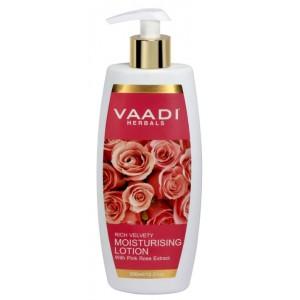Buy Vaadi Herbals Moisturising Lotion With Pink Rose Extract  - Nykaa