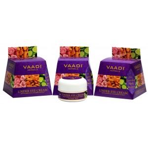 Buy Vaadi Herbals Value Pack Of 3 Under Eye Cream - Almond Oil & Cucumber Extract - Nykaa