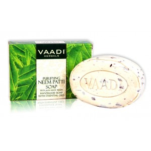 Buy Herbal Vaadi Herbals Neem Patti Soap - Contains Pure Neem Leave - Nykaa