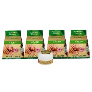 Buy Vaadi Herbals Value Pack Of 4 Foot Cream - Clove & Sandal Oil - Nykaa