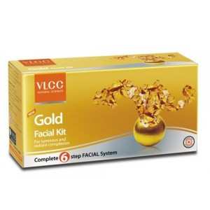 Buy VLCC New Gold Facial Kit - Nykaa