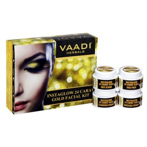 Buy Herbal Vaadi Herbals 24 Carat Gold Facial Kit - Nykaa
