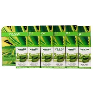 Buy Vaadi Herbals Super Value Pack Of 6 Aloe Vera Facial Bars With Extract Of Tea Tree - Nykaa