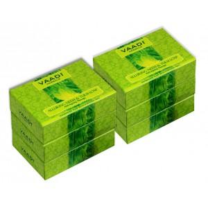 Buy Vaadi Herbals Super Value Pack Of 6 Alluring Neem - Tulsi Soap With Vitamin E & Tea Tree Oil - Nykaa