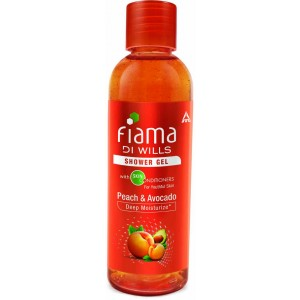 Buy Fiama Di Wills Peach & Avocado Shower Gel - Nykaa