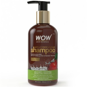 Buy WOW Skin Science Apple Cider Vinegar Shampoo Free Paraben Sulphate - Nykaa