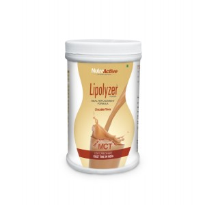 Buy NutroActive Lipolyzer Meal Replacement Low Carb Shake For Weight Loss - Nykaa