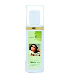 Buy Shahnaz Husain Improved Formula Shamla Plus Hair Cleanser Normal To Dry Hair - Nykaa