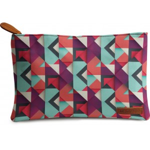 Buy DailyObjects Shapes Carry-All Pouch Medium - Nykaa