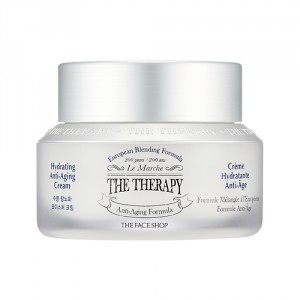 Buy Herbal The Face Shop The Therapy Hydrating Anti-Aging Cream - Nykaa