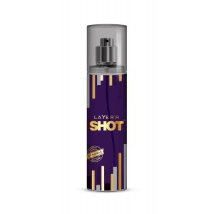Buy Layer'r Shot Gold Dynamic Body Spray - Nykaa