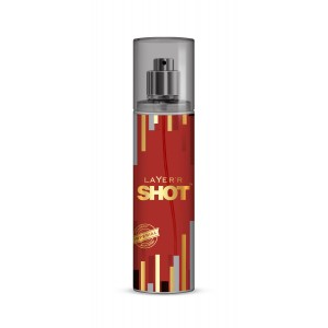 Buy Layer'r Shot Gold Imperial Body Spray - Nykaa