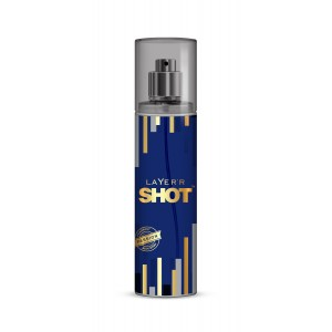 Buy Layer'r Shot Gold Passion Body Spray - Nykaa