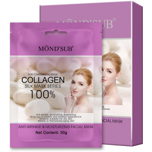 Buy Mond'Sub Anti-Wrinkle & Moisturizing Facial Mask (Pack of 8) - Nykaa