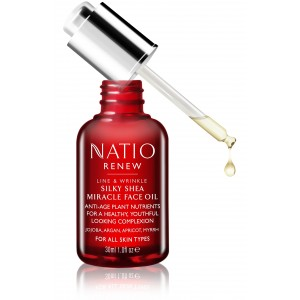 Buy Natio Renew Silky Shea Miracle Face Oil - Nykaa