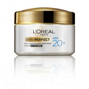 Buy L'Oreal Paris Age 20+ Skin Perfect Cream UV Filters - Nykaa