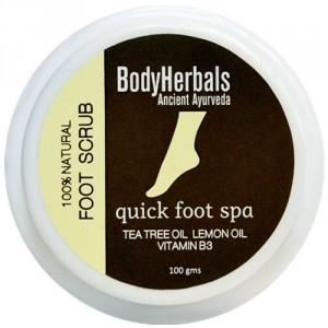 Buy BodyHerbals Foot Scrub - 1 minute pedicure - Nykaa