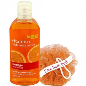 Buy BodyHerbals Orange Shower Gel Bathe With Fragrance - Nykaa