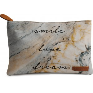 Buy DailyObjects Smile Love Dream Carry-All Pouch Medium - Nykaa