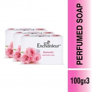 Buy Enchanteur Romantic Perfumed Soap for Women (Pack Of 3) - Nykaa