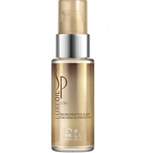 Buy Wella Professionals Sp LuxeOil Reconstructive Elixir For Keratin Protection - Nykaa