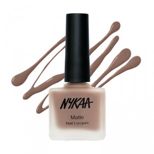Buy Nykaa Fall Winter Matte Nail Enamel - Spiced Gingerbread 126 - Nykaa