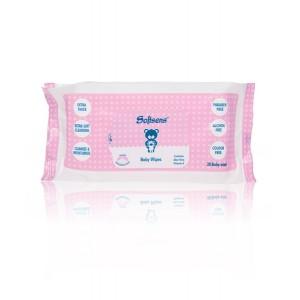 Buy Softsens Premium Baby 20 Wipes - Nykaa
