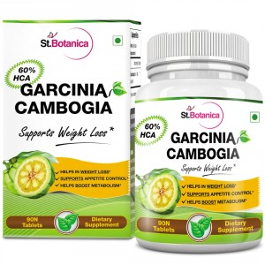 Buy Herbal StBotanica Garcinia Cambogia - 60% HCA 800mg Tablets - 90 Count - Nykaa
