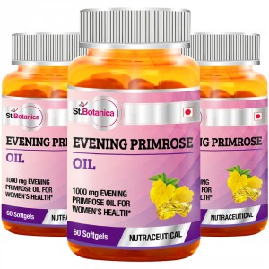 Buy St.Botanica Evening Primrose Oil 1000 mg - 3 Bottles - Nykaa