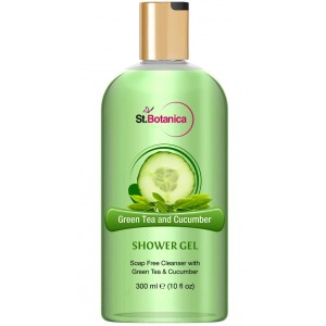 Buy St.Botanica Green Tea and Cucumber Luxury Shower Gel - Nykaa