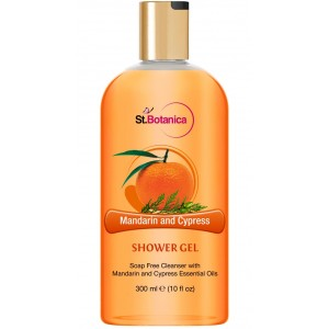 Buy St.Botanica Mandarin & Cypress Luxury Shower Gel - Nykaa