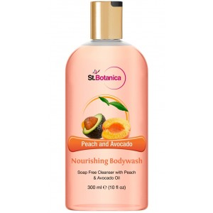 Buy St.Botanica Peach and Avocado Nourishing Luxury Body Wash - Nykaa