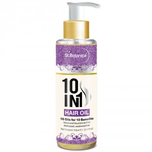 Buy St.Botanica 10 In 1 Hair Oil - Nykaa