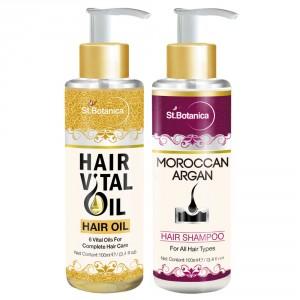Buy St.Botanica Hair Vital Oil + Hair Shampoo - Nykaa